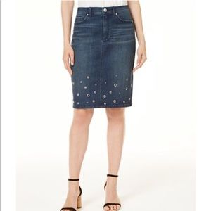 NWT INC Denim Pencil Skirt 4